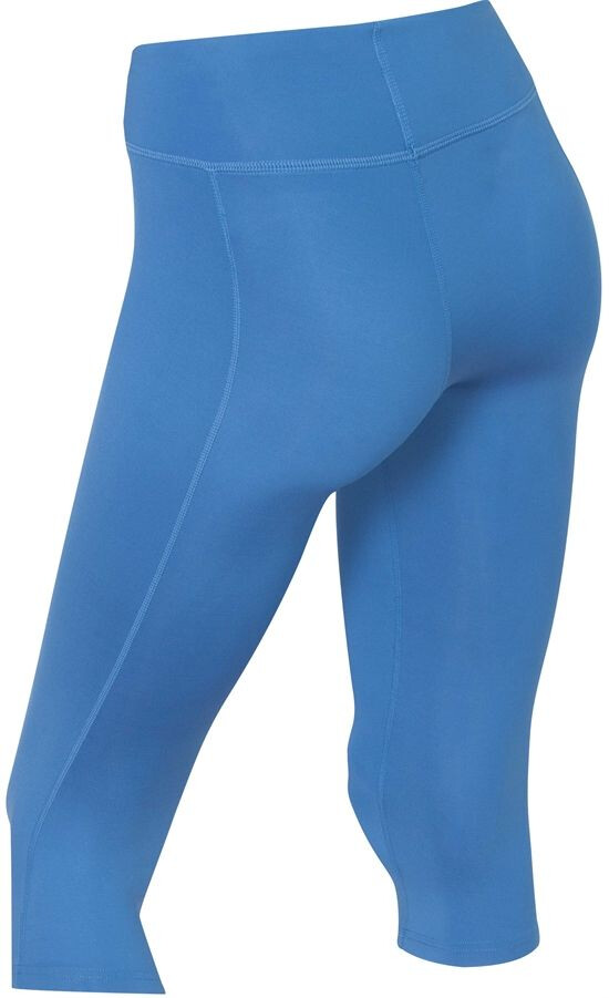 20497021 2XU Mid-Rise Compression 3/4 Tights Women pacific blue/silver logo ...
